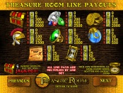 Символы и комбинации на Treasure Room