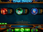 Игровой автомат Magic Portals символы