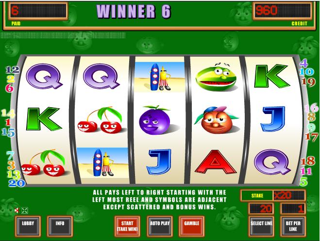 Игровой автомат Crazy Fruits понравится любителям «фруктовых» автоматов, поиграть в Крези Фрут можно бесплатно и без регистрации/ Кумертау