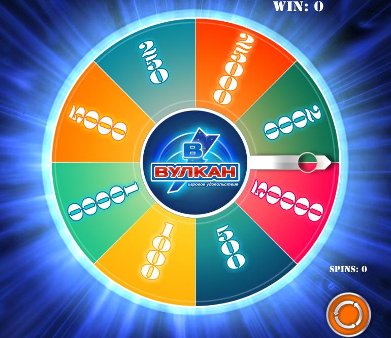 казино вулкан колесо